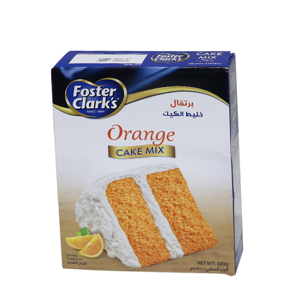 FOSTER CLARK CAKE MIX ORANGE 500g