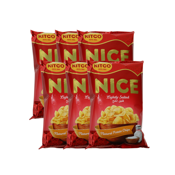 KITCO NICE LIGHTLY SALTED CHIPS 80g