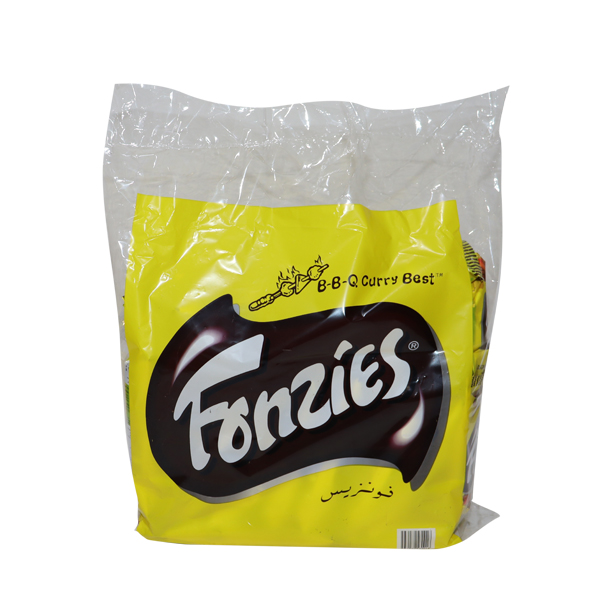 FONZIES BBQ CHIPS 28g