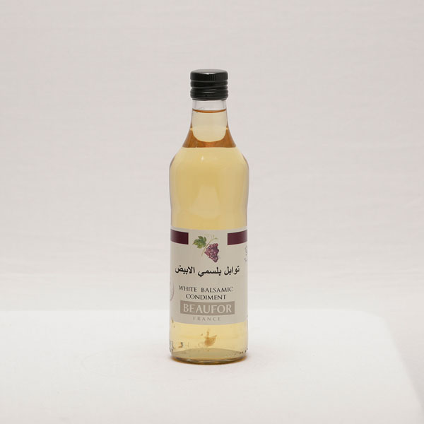 BEAUFOR WHITE BALSAMIC VINEGAR 500ML