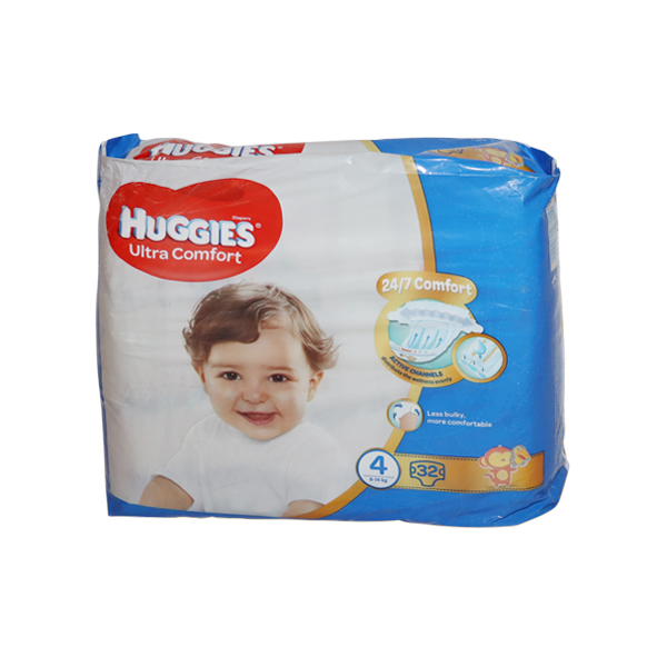 HUGGIES CONVENIENCE SIZE 4 32S