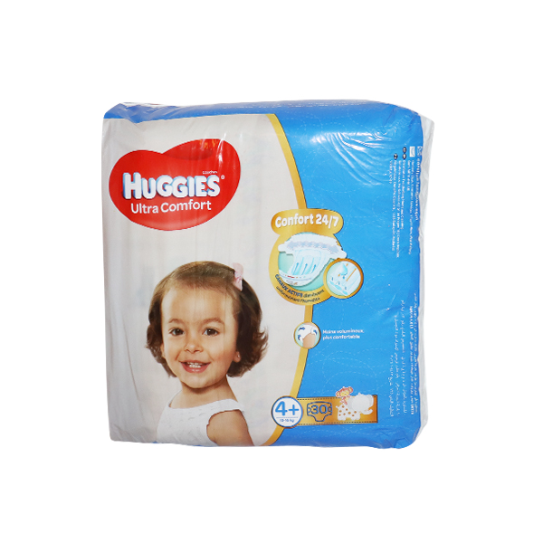 HUGGIES CONVENIENCE SIZE 4+ 30S