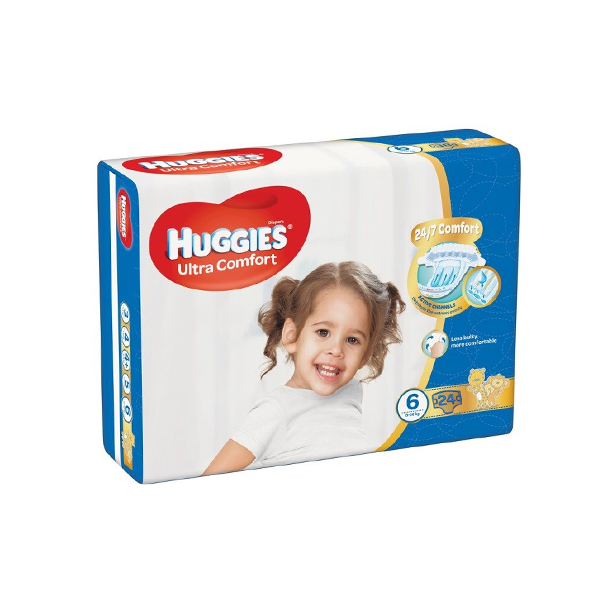 HUGGIES DIAPERS CONVENIENCE SIZE 6 24S