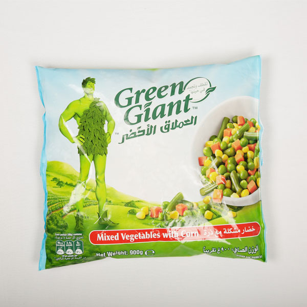 GREEN GIANT MIXED VEGETABLE CORN 900g