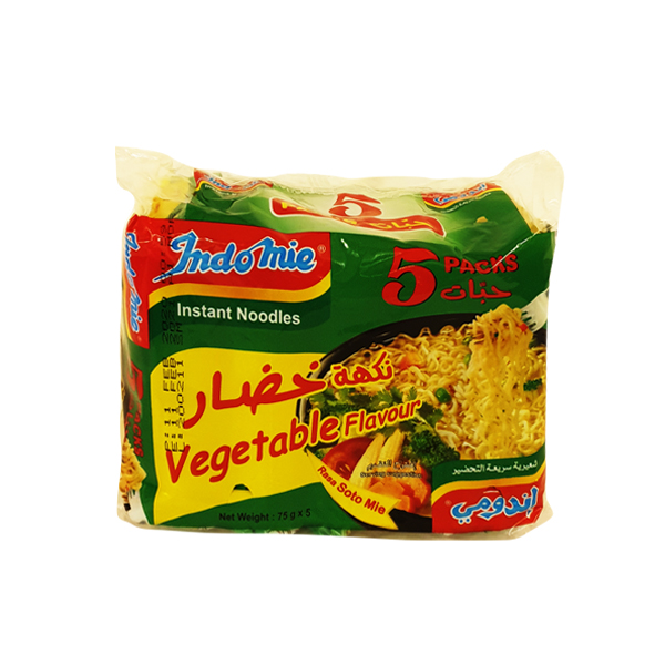 INDOMI NOODLE VEGETABLE 75g