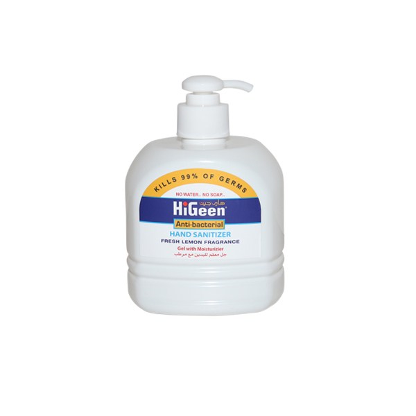 HIGEEN ANTI BACTERIAL HAND SANITIZER 500ml
