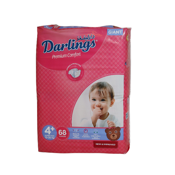 DARLINGS PREMIUM STAGE 4 PLUS 10-20 KG 68PCS