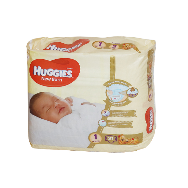 HUGGIES DIAPERS PURE AND NATURAL  1