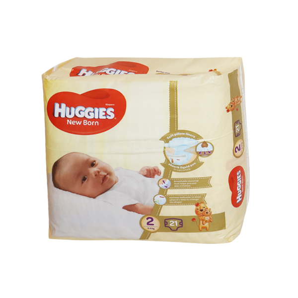 HUGGIES DIAPERS PURE AND NATURAL  2