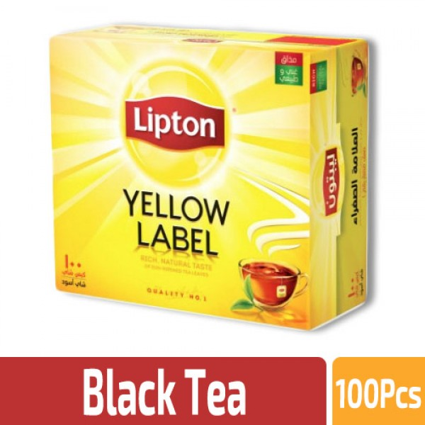 LIPTON YELLOW LABEL TEA PACKETS 2X450g