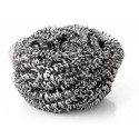 STEEL SCOURER WITH SPONGE