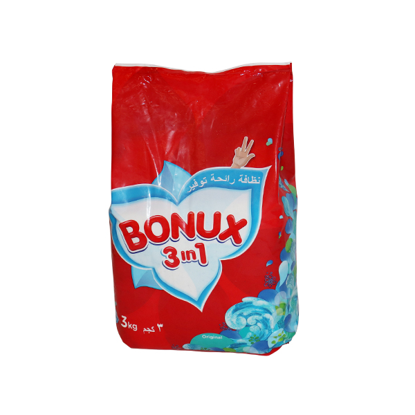 BONUX  HIGH FOAM ORIGINAL3kg