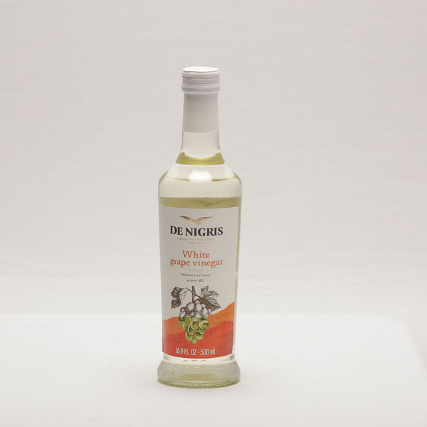 DE NIGRIS WHITE GRAPE VINEGAR 500ML