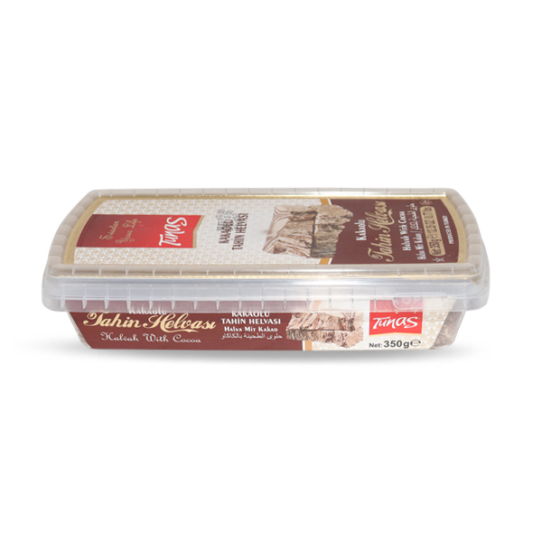 AL MUTASALIQ TUNAS HALVA WITH COCOA 350gm