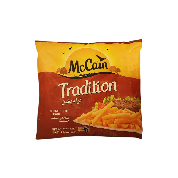 MCCAIN TRADITION FRIES 1.5KG