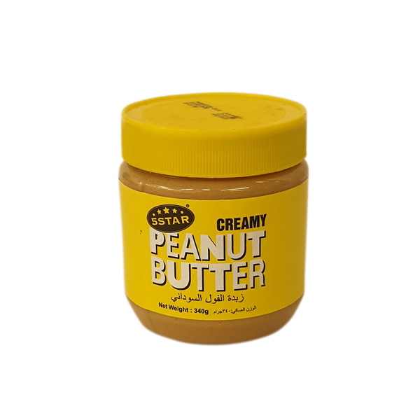 5 STAR PEANUT BUTTER 340g