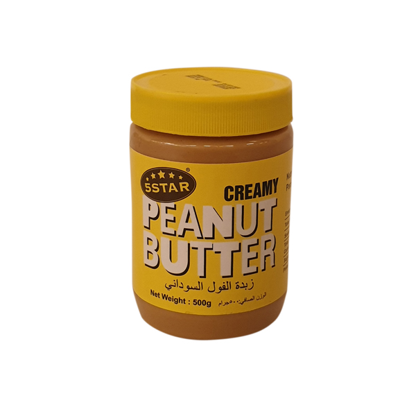 5 STAR PEANUT BUTTER 500g