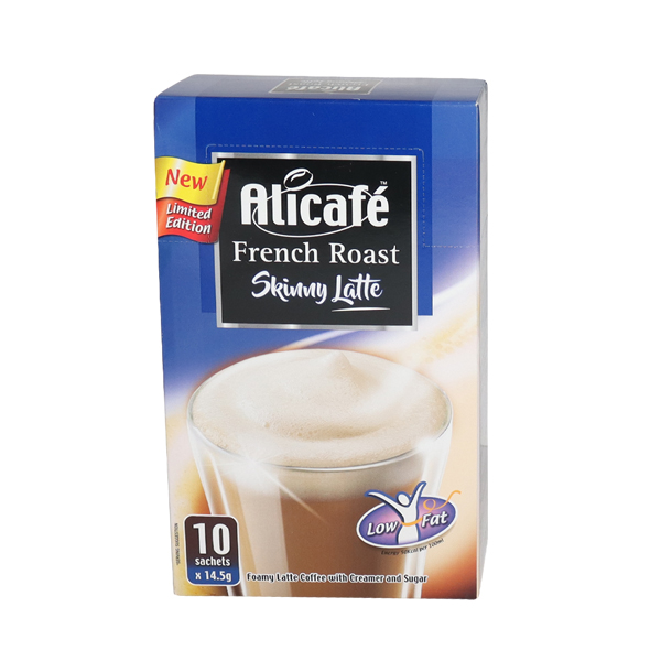 ALICAFE FRENCH ROAST SKINNY LATTE  10*14.5gm