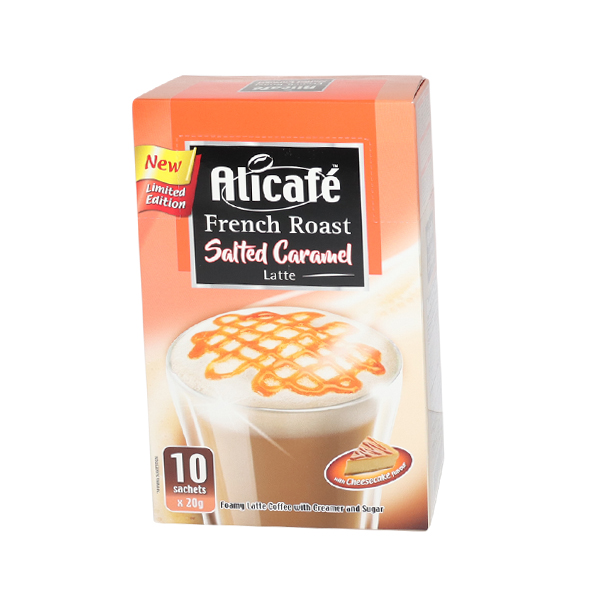 ALICAFE FRENCH ROAST SALTED CARAMEL 10*20 gm