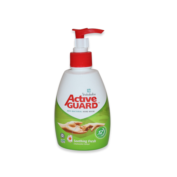 ACTIVE GUARD LIQUID HAND WASH SOOTHING FRESH 220ml