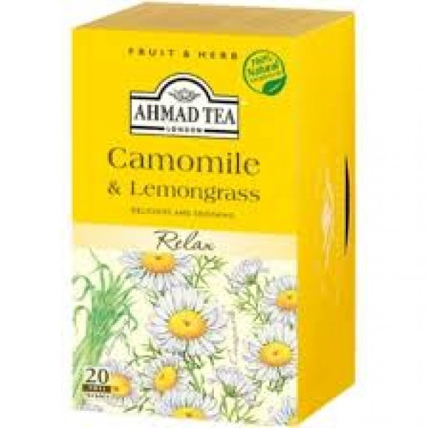 AHMAD LEMON GRASS TEA 20X1.5g