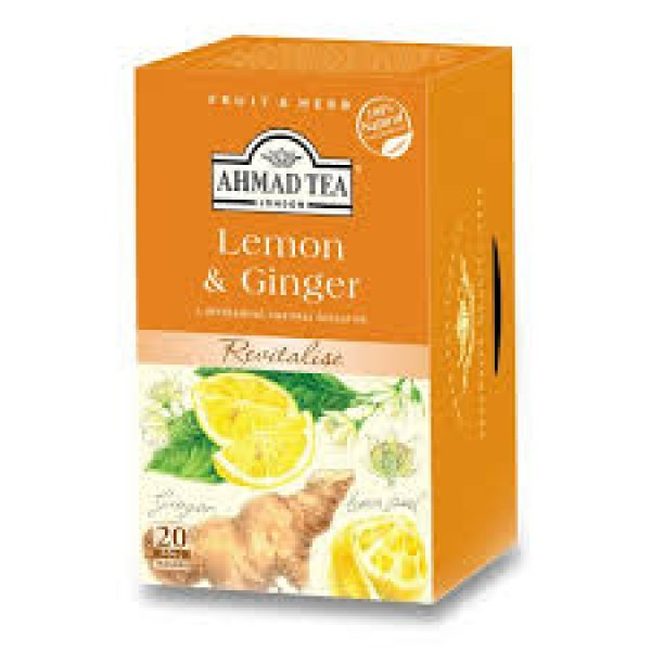 AHMAD LEMON GINGER TEA 20X2g