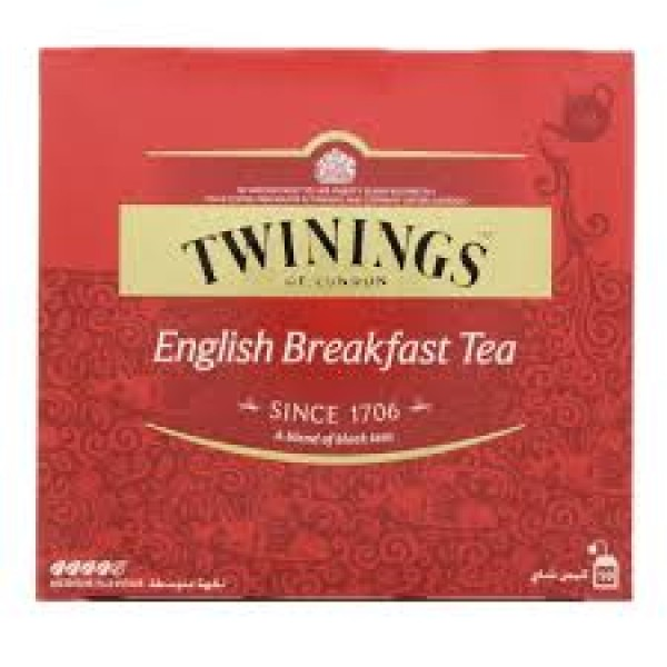 TWININGS ENG BREAKFAST TEA 50pcs
