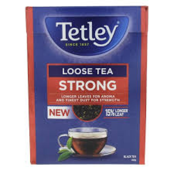 TETLEY LOOSE TEA STRONG 400g