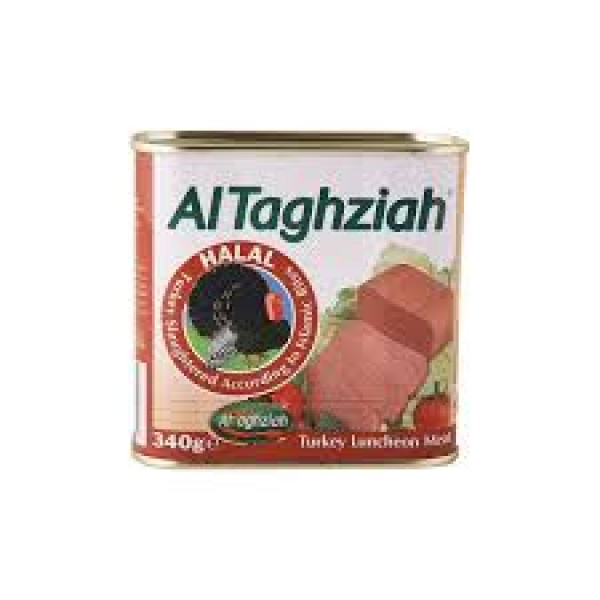 AL TAGHZIAH LUNCHEON TURKEY 340g