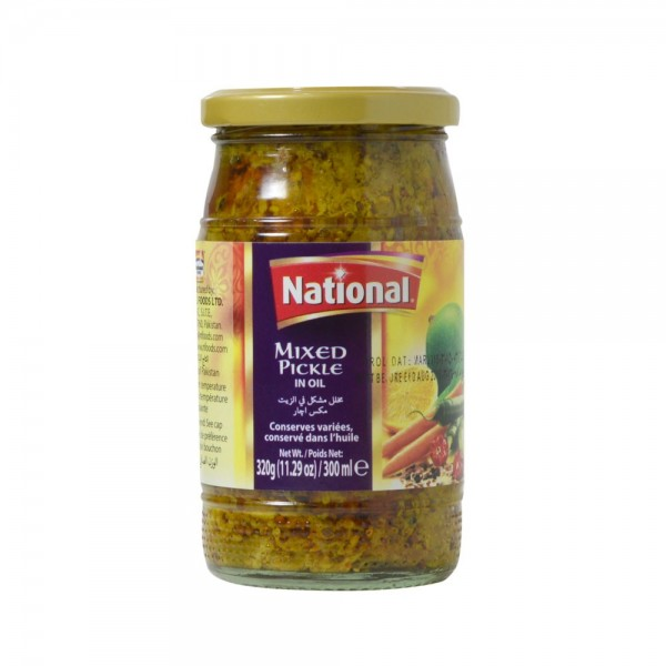 NATIONAL MIXED PICKLE 320g