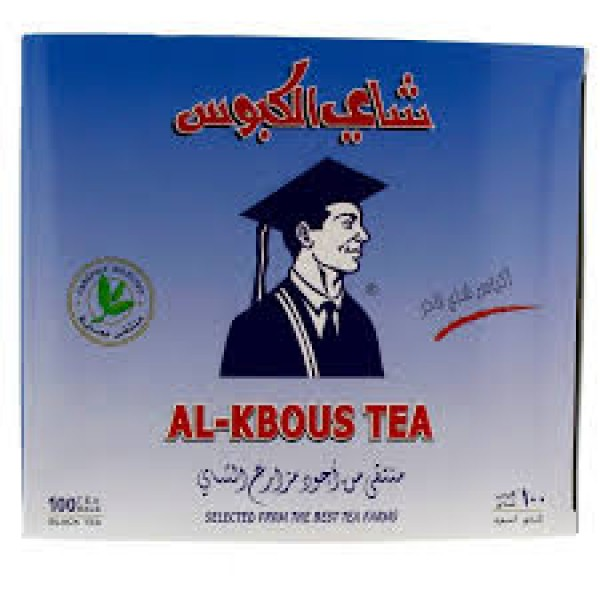 AL KBOUS TEA BAG 100pcs