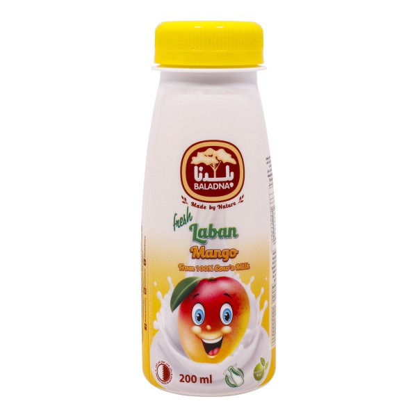BALADNA FLAVORED LABAN MANGO 200ml