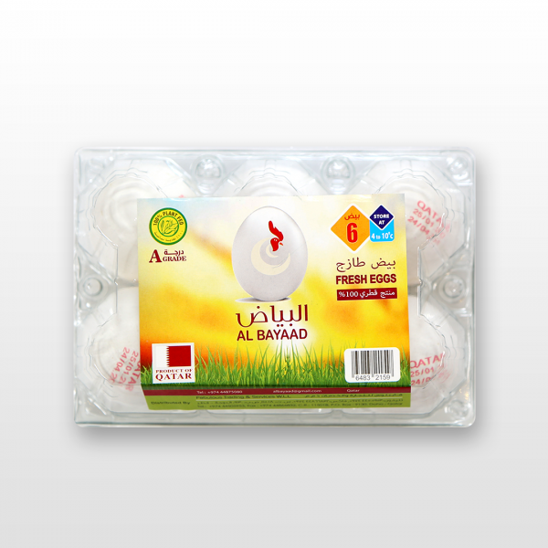 AL BAYAAD FRESH EGG 6pcs