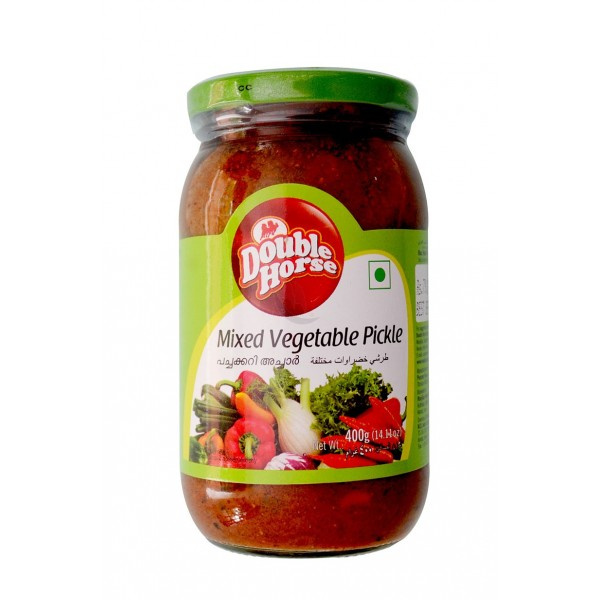 D/HORSE MIXED VEGETABLE PICKLE 400g